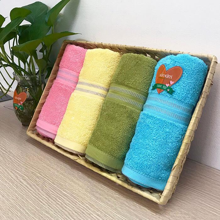 Set khăn quà tặng colorful