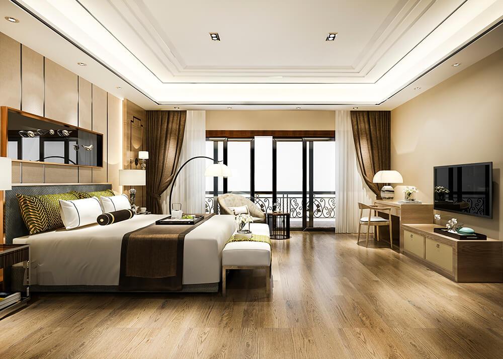 Tấm trang trí giường khách sạn với nhiều công dụng khác nhau