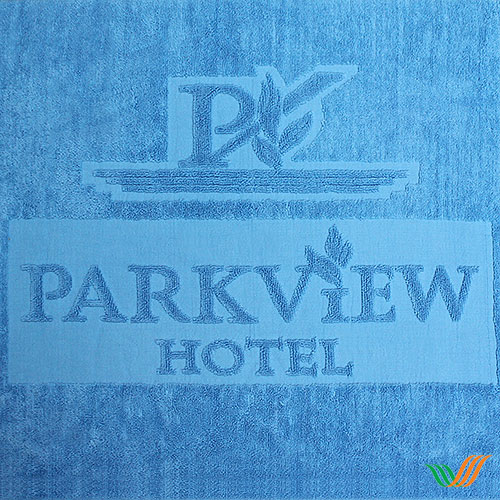 Dệt logo khăn bông PARKVIEW Hotel